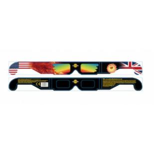 Solar Eclipse Glasses - New, Improved Design - Wider Frame