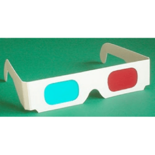 Cyan/Magenta Anaglyph Glasses