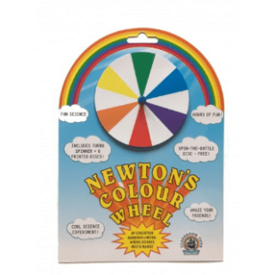 Newtons Colour Wheel by Education Harbour Limited