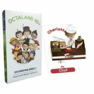 Octaland 4D+ Augmented Reality Flashcards