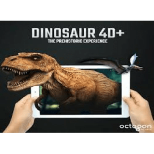 Dinosaurs 4D+ by Octagon Studio Augmented Reality Flashcards by Octagon Studio