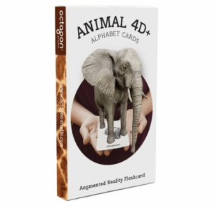 Animal 4D+ Alphabet Cards
