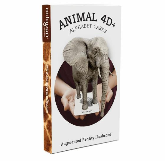 Animal 4D+ Alphabet Cards
