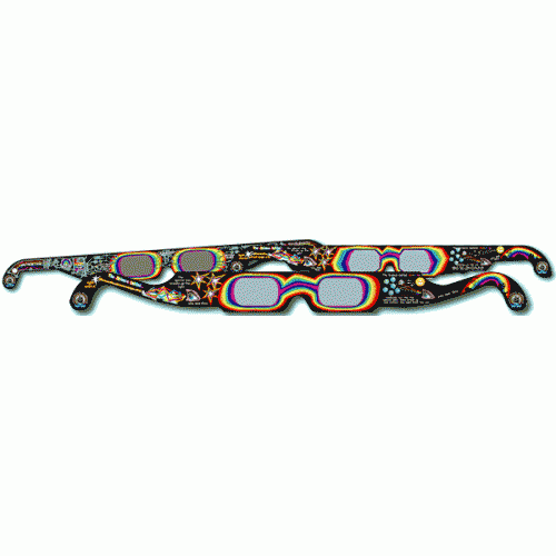 Education Harbour Rainbow Diffraction Glasses